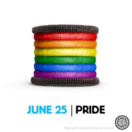 Biscuit Oreo Gay pride