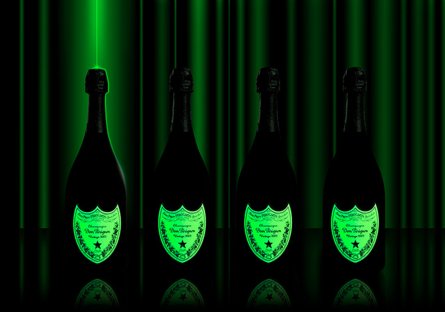 Dom Pérignon luminescente