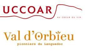 Logos d'UCCOAR et de Val d'Orbieu