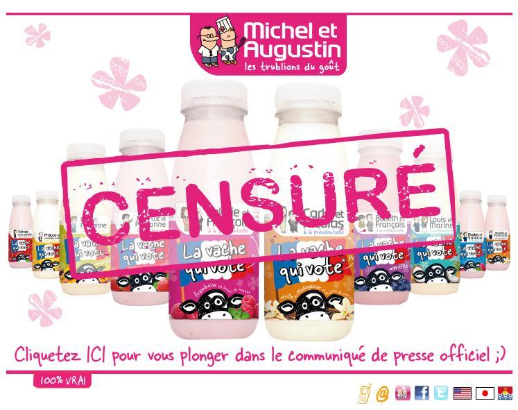 Michel & Augustin site censuré