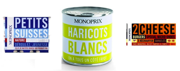Packaging Monoprix