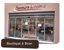 Une boutique à Bron