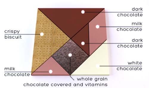 tangram snack