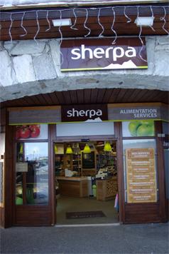 Nouveau Look pour les magasins Sherpa