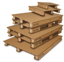 Les palettes cartons pour mieux répondre aux rotations de produits.