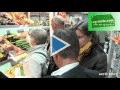 Légumes de France inspecte les rayons fruits et légumes de magasins parisiens.