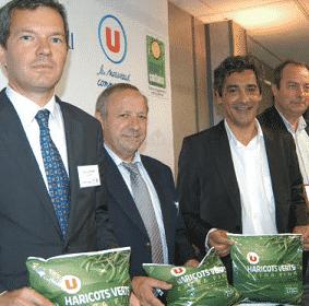 Système U privilégie les haricots verts certifiés.