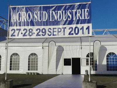Premier bilan du salon Agro Sud Industrie d'Agen 2011.