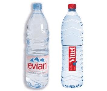Evian et Vittel obligés de redorer leur blason.