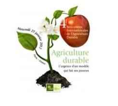 4èmes rencontres internationales de l'agriculture durable.