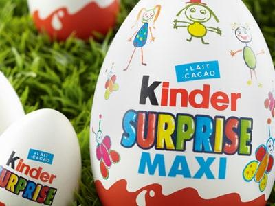 Soutenez le Secours Populaire français en achetant un œuf Kinder !