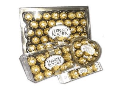 Ferrero, leader des chocolats de Noël.