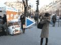 Chandeleur 2012 : Nutella et les Voisins solidaires à Paris.
