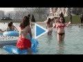 Miko passe en mode été en organisant le 1er bain dans la Seine de l'année !