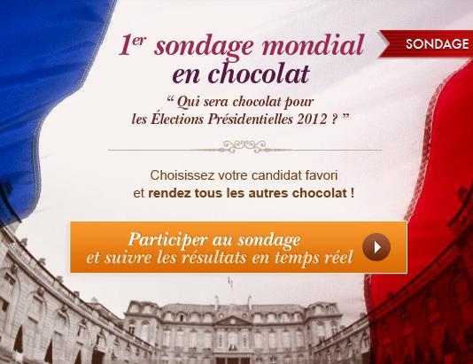 Pour Pâques, participez au 1er sondage Chocolat du monde !