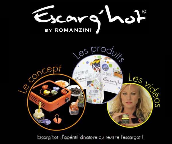 Concours Lépine : les escargots s'invitent à  l'apéro grâce à Escarg'hot !