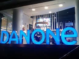 Danone chute de 6% à la Bourse de Paris.