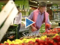 Les fruits et légumes font leur pub au cinéma.