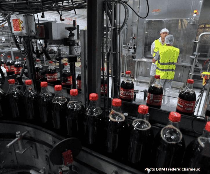 Coca prévoit 500 suppressions de poste en Europe.