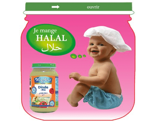 Les petits pots b b halal r volutionnent le rayon b b au - Salon international de l agroalimentaire ...