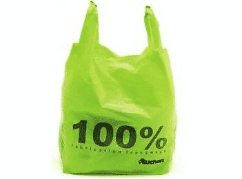 Auchan va produire des sacs plastiques recyclés.