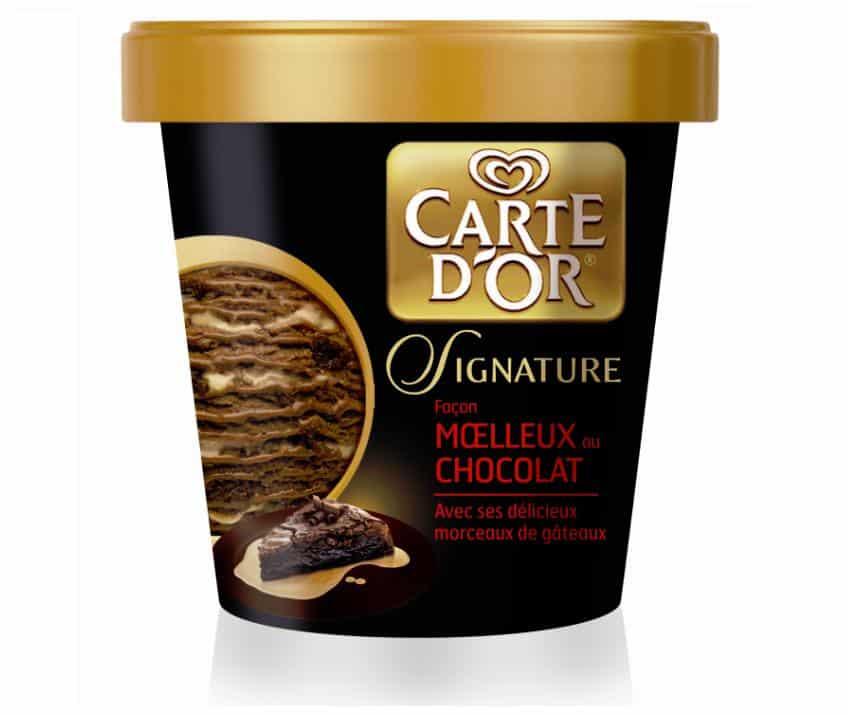 Carte d'Or Signature : une nouvelle gamme de glace en pot dévoilé par Carte d'Or