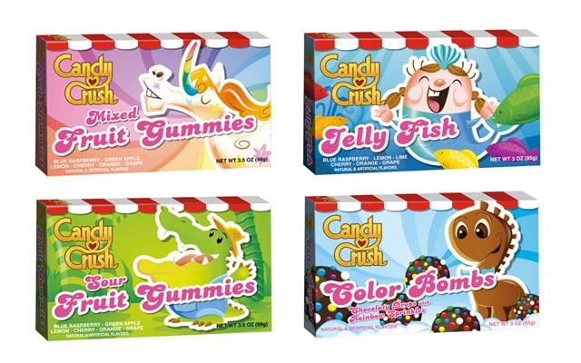 Candy Crush lance sa marque de vrais bonbons