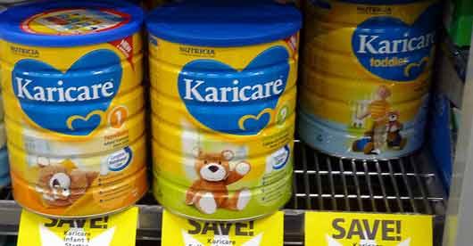 Lait contaminé: Danone attaque Fonterra pour le préjudice subi dans l'affaire du lait infantile
