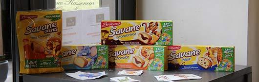 Brossard lance le Savane sans huile de palme