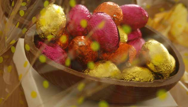 Les chocolatiers réalisent en moyenne 5 % de leur chiffre d'affaires à Pâques.