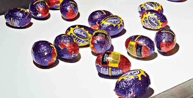 Les secrets de fabrication des œufs Cadbury