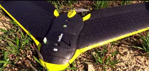 Drone eBee: la technologie se met au service de l'agriculture
