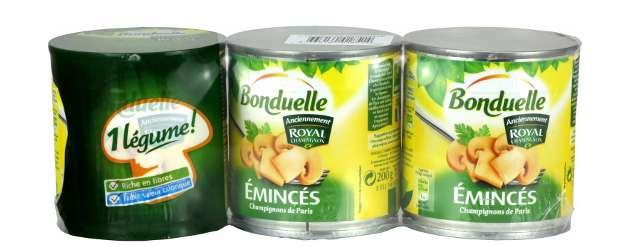 Conserves: amende de 30 millions pour Bonduelle