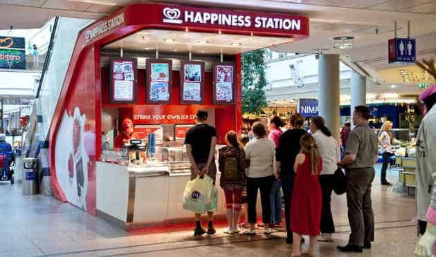 Miko développe des Happiness Station
