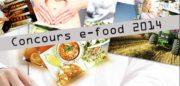 E-Food 2014: le concours qui met le numérique au service de l'alimentation
