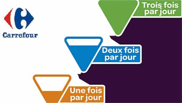 Étiquetage nutritionnel: Des scientifiques fustigent l'étiquetage de Carrefour