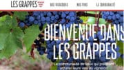Vin: «Les Grappes», un réseau social dédié au vin