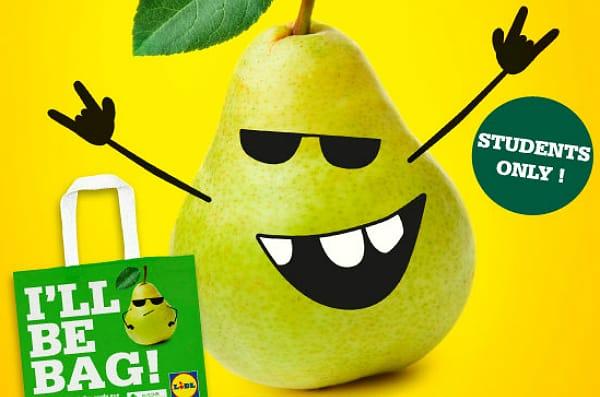 Lidl offre des paniers de fruits et légumes aux étudiants Belges