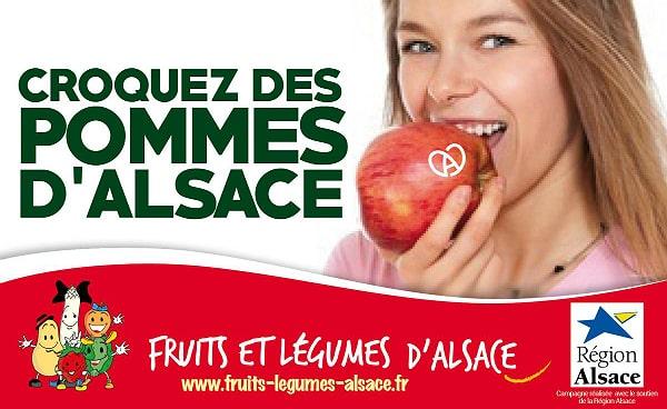 Fruits: L'Alsace fait la promotion des pommes locales pour relancer la filière