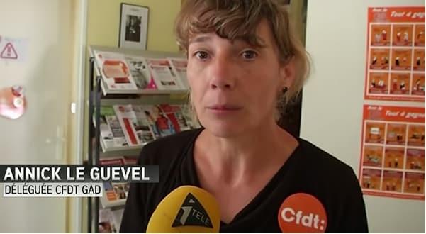 Exclusif: «Les salariés du site de Josselin ne savent pas encore qui est concerné par les licenciements », explique Annick Le Guevel, élue CFDT chez Gad