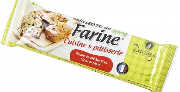 Farine: Decollogne invente la «dosette de farine» pour lutter contre le gaspillage