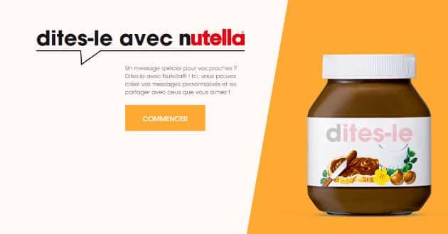 Le bad buzz de Nutella et des mots interdits sur ses étiquettes