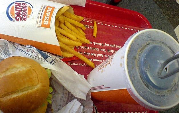 Burger King bannit les sodas de ses menus pour enfants
