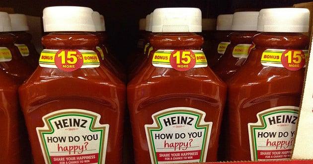 Kraft Heinz supprime 2600 postes en Amérique du Nord