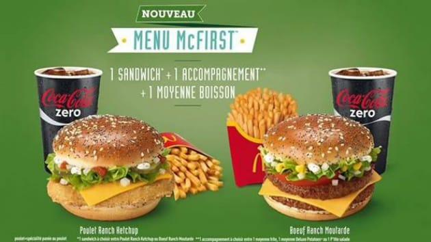 McDonald's lance le McFirst, un menu low-cost… pour mieux se relancer ?