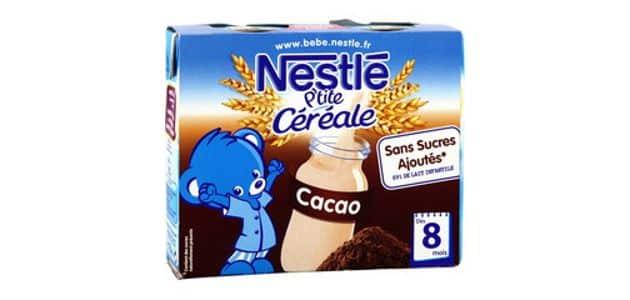 Nutrition infantile: Nestlé se relance sur le petit-déjeuner