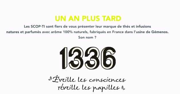 """""""1336"""", la marque des ex-Fralib est née"""