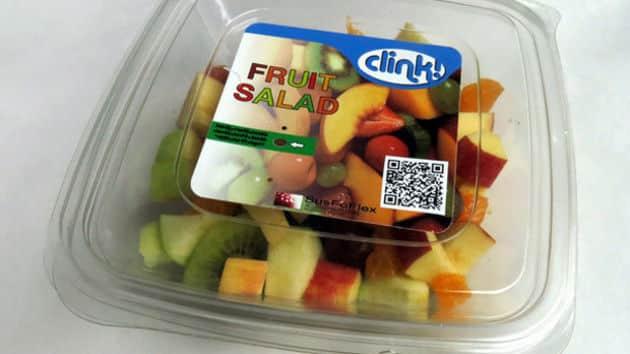 Produits frais: une étiquette pour détecter l'altération