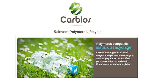 Carbios offre de nouvelles perspectives applicatives au PLA en le rendant biodégradable à l'échelle pré-industrielle