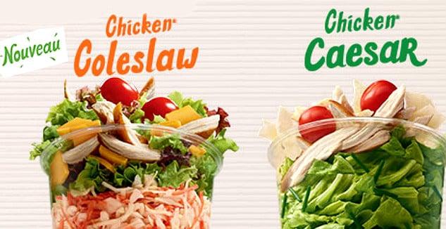 Nouvelle signature d'une contractualisation pluriannuelle au sein de la filière salade de McDonald's France